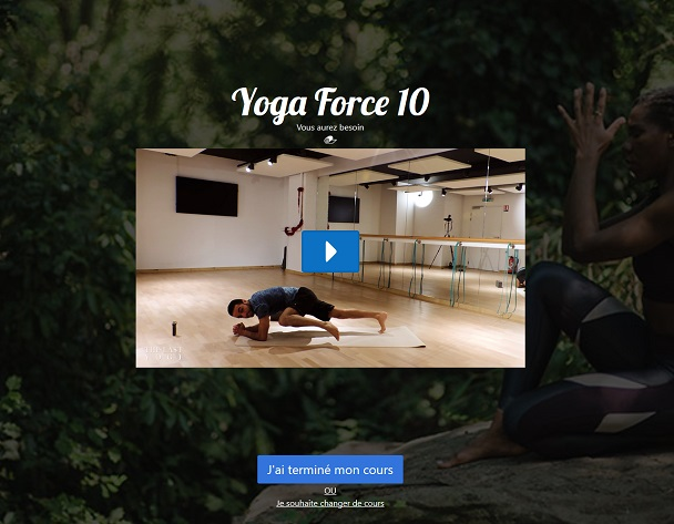 Image de l'application de Yoga